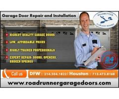 24/7 Garage Door Repair Service Starting $26.95 | Dallas, TX