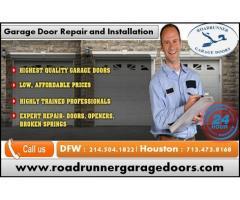24/7 Garage Door Repair Service Starting $26.95 | Dallas, TX