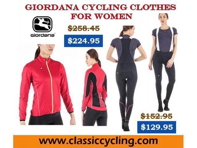 Giordana Women's Fusion Bib Tight | Cycling Clothes for Women