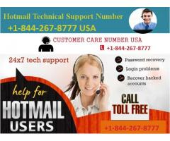 Call Anytime Our Toll-Free Hotmail Support Number  +1-844-267-8777