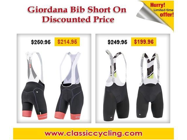 Huge Clearance on Giordana Women's FR-C PRO Bib Short