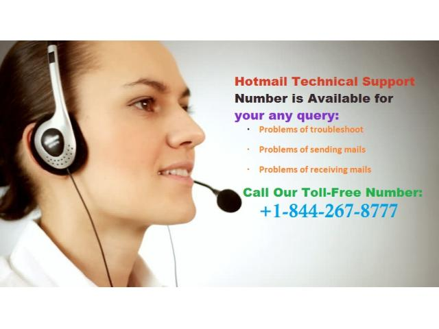 Hotmail Contact Number  +1-844-267-8777
