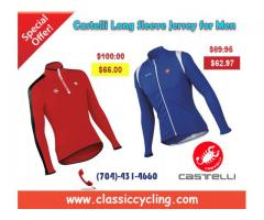 Castelli Long Sleeve Jersey for Men on Discounted Price