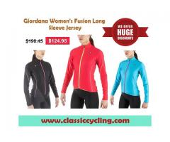 Giordana Women's Fusion Long Sleeve Jersey | Women's Cycling Jersey