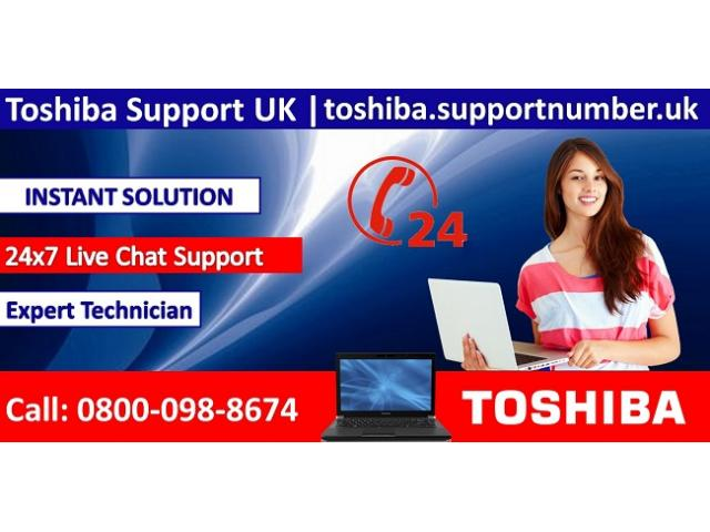 Toshiba Technical Support UK Helpline Number 0800-98-8674