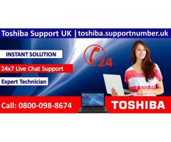 Toshiba Technical Support UK Helpline Number 0800-98-8674