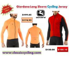 2017 Black Friday Sale on Giordana Long Sleeves Cycling Jersey