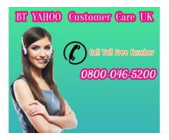 BT Yahoo Support Number Help » 0800-046-5200 UK - Email Support