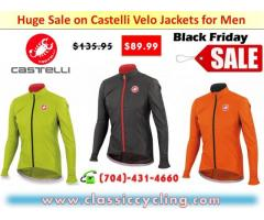Huge Sale on Castelli Velo Jackets for Men | Classic Cycling
