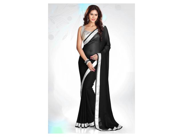 Black Sarees For Parties