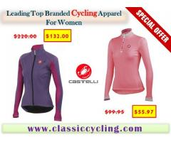 Discounted Price on Castelli Cycling Jacket for Women