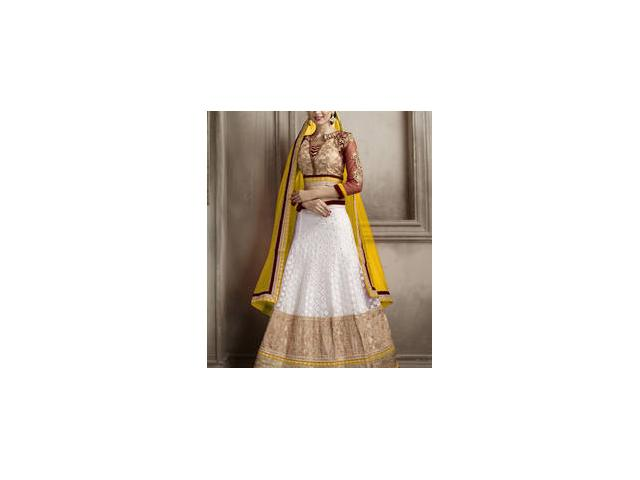 Mirraw Offers Net Lehengas With Up to 75% Off