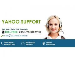 Contact Yahoo Technical Support Team by dialing +353-766042738