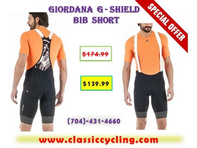 Giordana G-Shield Cycling Bib Shorts   2017 Black Friday Sale