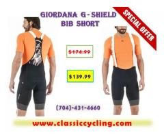 Giordana G-Shield Cycling Bib Shorts | 2017 Black Friday Sale