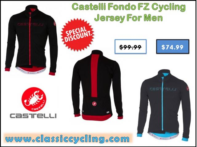 2017 Black Friday Sale on Castelli Long Sleeve Cycling Jerseys