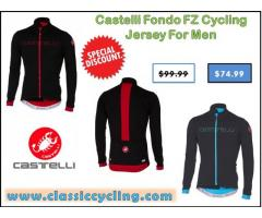 2017 Black Friday Sale on Castelli Long Sleeve Cycling Jerseys