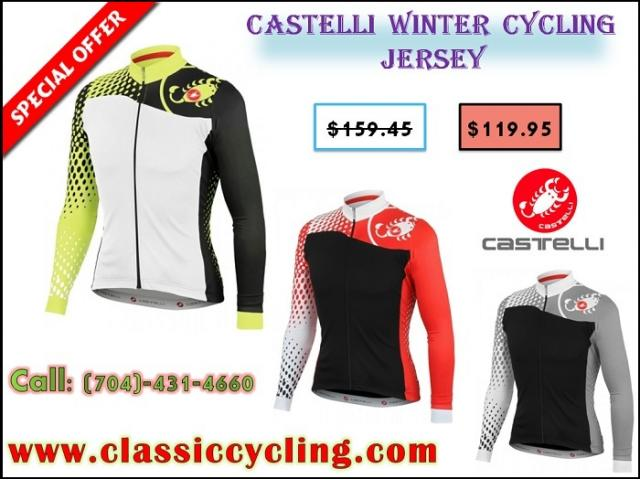 Castelli Cycling Jersey | Leading Top Branded Cycling Clothing