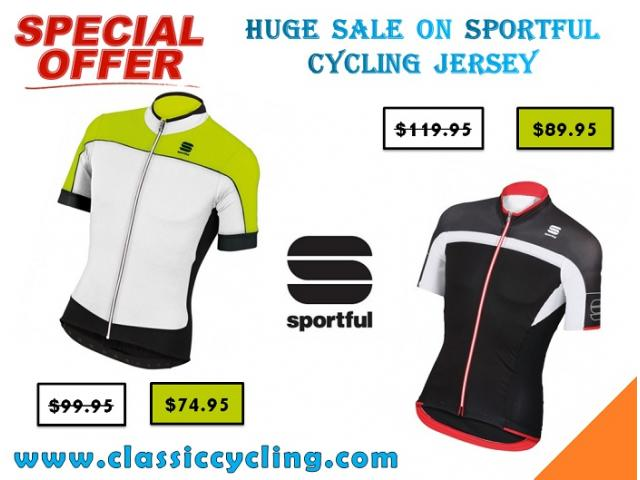 Huge Clearance on Sportful Cycling Jersey for Men