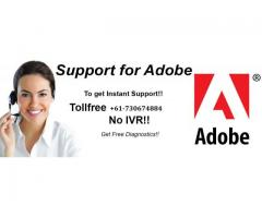 Having Issue in Adobe, Don't worry Just call Adobe Customer Support +61-730674884
