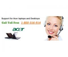 Dial 1-800-316-914 for Acer Products Support