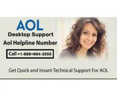 Dial up 1-888-664-3555 AOL email desktop software support phone number for any type help