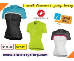 Castelli Cycling Jersey for Women | Cycling Jersey for Women