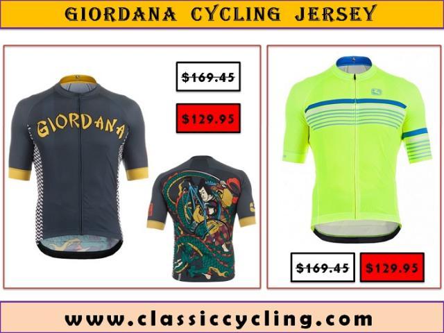Discounted Price on Giordana Short Sleeve Cycling Jerseys