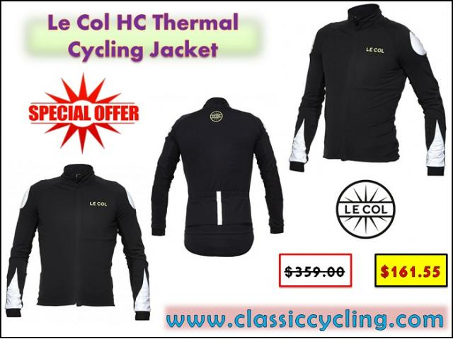Le Col HC Thermal Cycling Jacket on Huge Sale | Classic Cycling