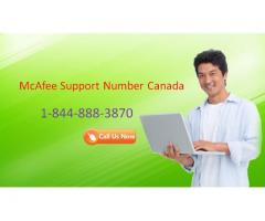 McAfee Support Canada Number 1-855-687-3777