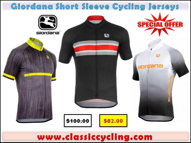 Discounted Price on Giordana Cycling Jerseys for Men