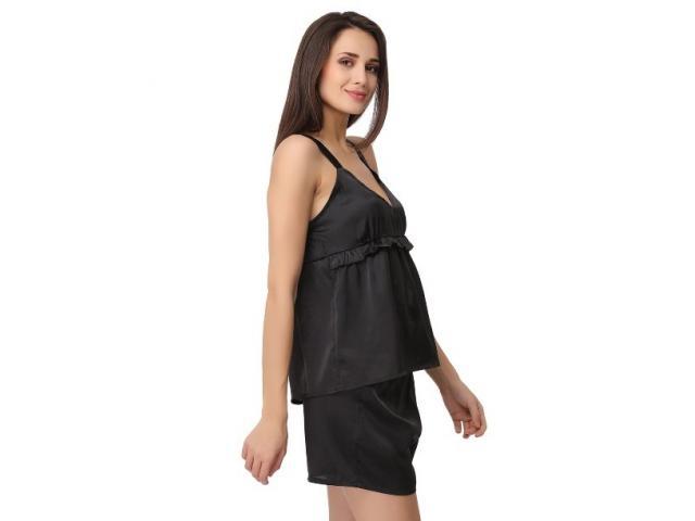 Buy Satin Top & Shorts Set Online India at Shoppyzip