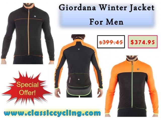 Huge Sale on Giordana Winter Jacket for Men