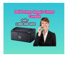 Dell Printer Repair Centre Canada 1-855-253-4222