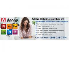 Adobe Contact Number UK 0808-238-7544 Adobe Technical Help Number UK