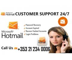 Hotmail Customer Support Number +353 21 234 0006 Ireland