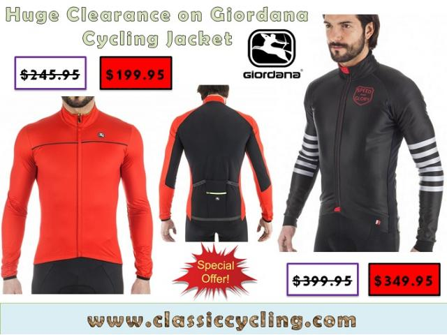 Cycling Apparel Clearance | Giordana WindFront Cycling Jackets