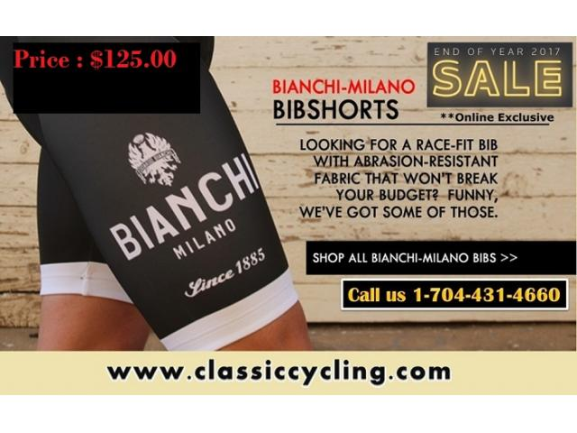 Huge Sale on 2017 End Clearance | Bianchi Milano bib shorts