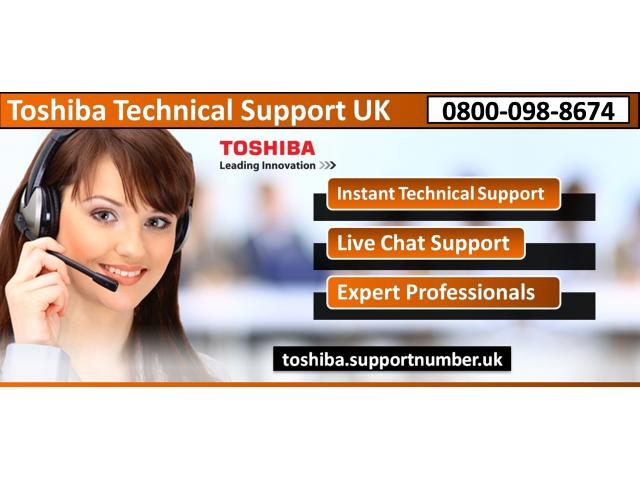 Toshiba Contact Number for Support 0800-098-8674