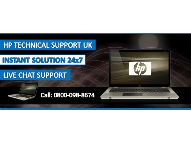 HP Support Contact Number UK 0800-098-8674