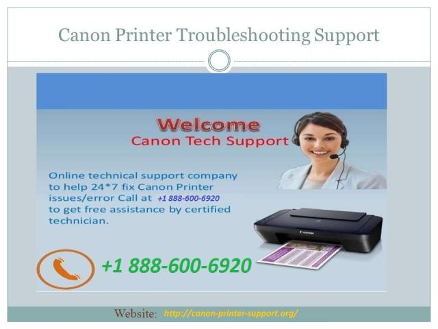 Canon Printer Helpline +1-888-600-6920 CanonPrinter Support