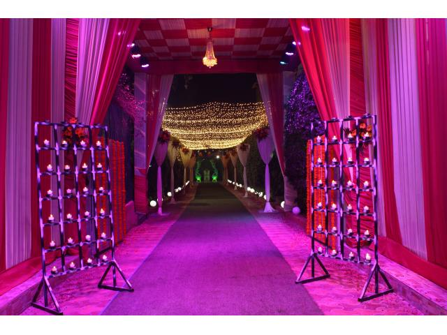 reception function in dwarka, reception ceremony in dwarka,
