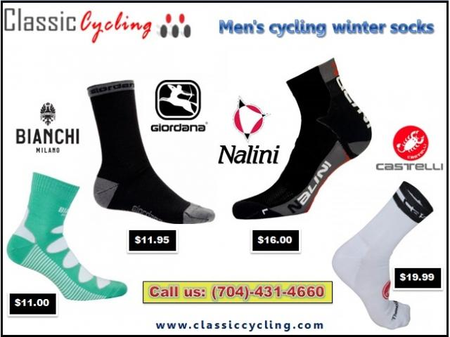 Don't be Late…Men's Winter Wool Cycling Socks | Huge Sale on 2018