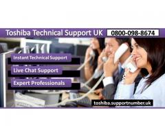 Dial Toshiba Contact Number 0800-098-8674 for Help