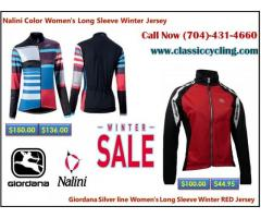 Women's Long Sleeve Winter Jersey @ classiccycling.com