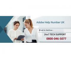 Adobe Support Number UK 0800-046-5077 Adobe Help Number UK