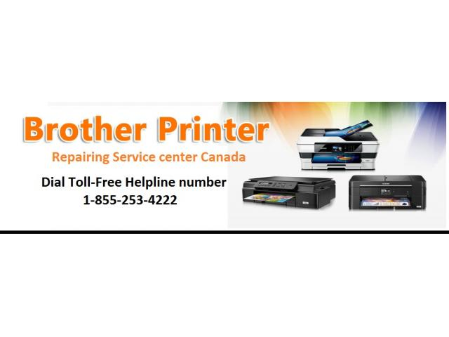 Dial 1-855-253-4222 for Brother Printer Repair Centre Canada