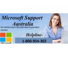 Microsoft Support Australia Number 1-800-954-302