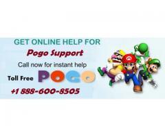 Pogo Support Number 1-888-600-8505