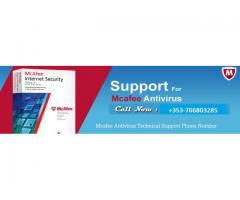 McAfee Antivirus Technical Support Ireland Number +353-766803285